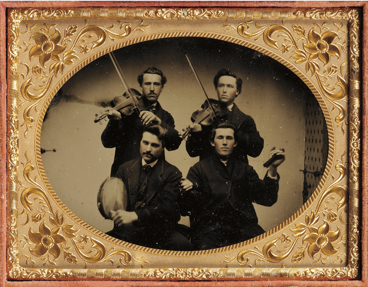 Tintype | Musicians | Early Photography