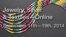 Jewelry, Silver & Textiles - Online