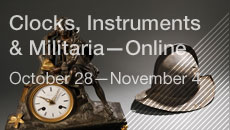 Clocks, Instruments & Militaria—Online