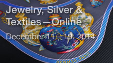 Jewelry, Silver & Textiles—Online