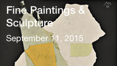 Fine Paintings & Sculpture