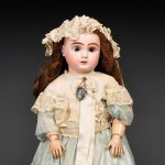 Jules Steiner Bisque Head Doll, France, c. 1880s (Lot 128, Estimate $800-  $1,200)