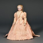 Bisque Head Lady Doll by Bru, France, c. 1870 (Lot 150, Estimate $2,000-  $2,500)