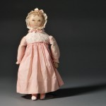Columbian Painted Cloth Doll, late 19th/ early 20th century (Lot 58,   Estimate $2,500-$3,500)