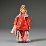 Door of Hope Mission Bride Doll, early 20th century (Lot 7, Estimate $300-  $500)