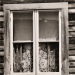 Walker Evans (American, 1903-1975), Two Gelatin Silver Prints: Eagle's Store, Selma, Alabama, 1935, and Window, Mystic, Connecticut, 1942 (Lot 185, Estimate $2,500-$3,500)