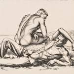 Paul Cadmus (American, 1904-1999) Two Boys on a Beach, No. 2, 1939 (Lot 29, Estimate $3,500-$5,500)