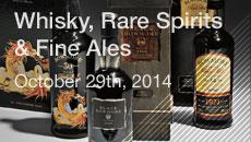 Whisky, Rare Spirits & Fine Ales