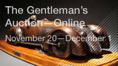The Gentleman's Auction—Online
