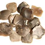 Musket Flints England, 1770-1775, Flint, Concord Museum Collection, Gift of Mr. Benjamin L. Smith (1938) M412. Photo by the author.