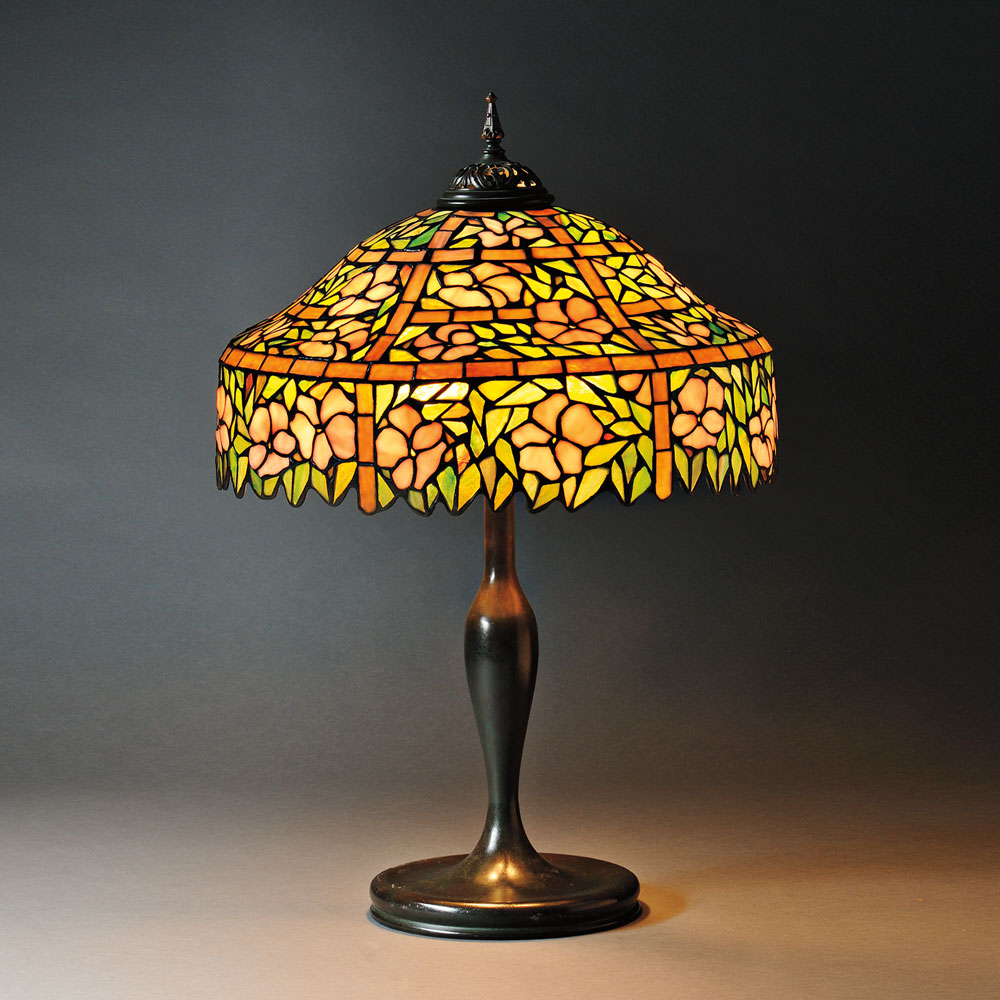 Mosaic glass lamps antique tiffany lamps skinner auction 2661b mosaic glass table lamp attributed to unique art glass metal co art glass and metal new york early 20th century lot 25 estimate 1200 1500 aloadofball Choice Image