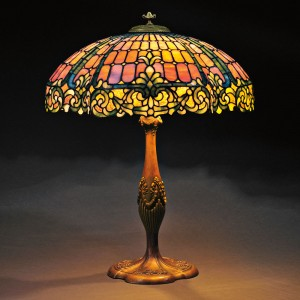 The Value of Mosaic Glass | Antique Tiffany Lamps | Duffner