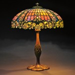 Mosaic Glass Table Lamp Attributed to Duffner & Kimberly, New York, early 20th century (Lot 41, Estimate $8,000-$12,000)