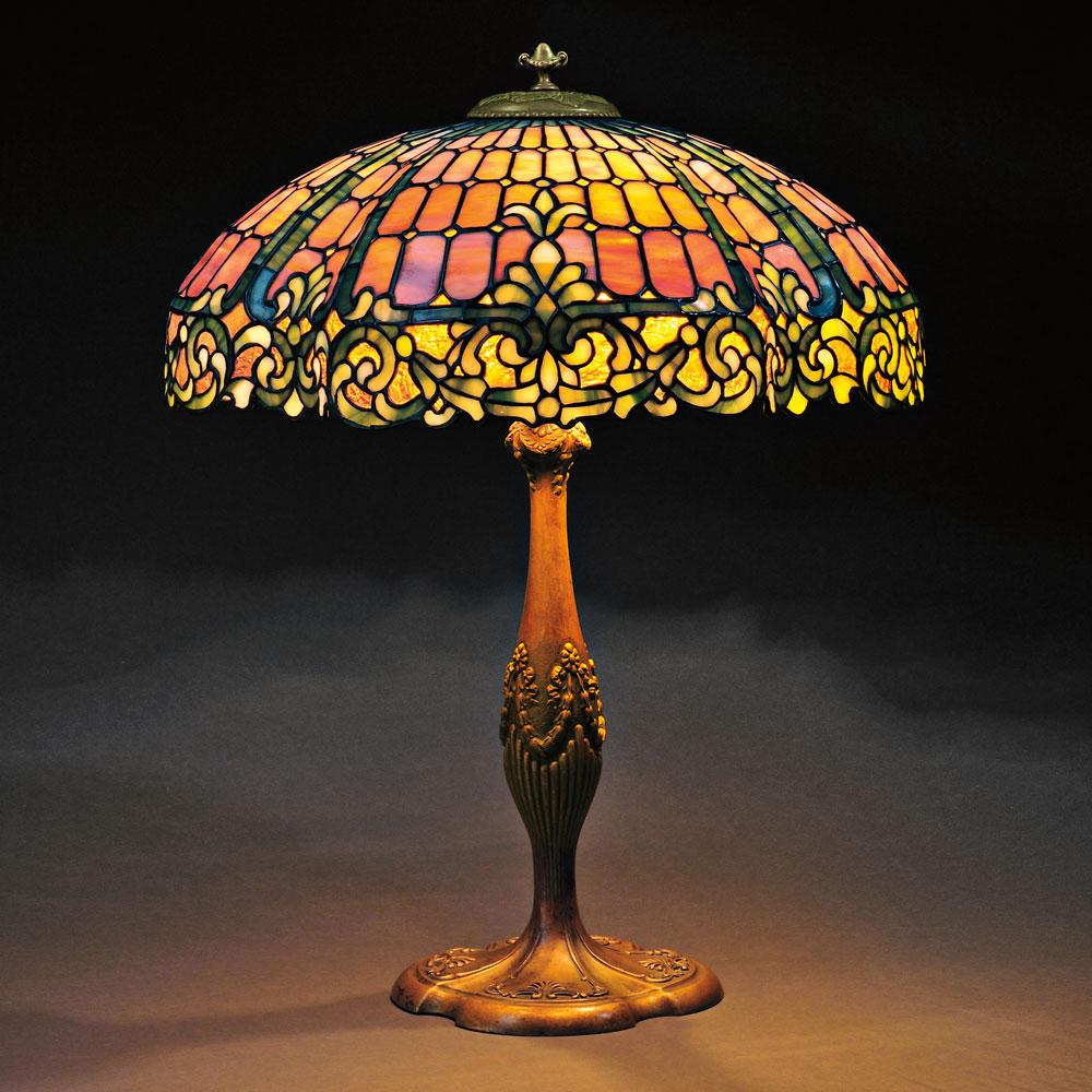 Casa cortes lush mosaic art glass 25 inch table lamps set of 2 - Filename 2661b 41 Duffner Kimberly Mosaic Glass Lamp Jpg