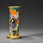 Wedgwood Fairyland Lustre Torches Vase (Lot 1011, Estimate $3,000-$5,000)