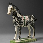 Yorkshire Earthenware Model of a Horse (Lot 1346, Estimate $1,200-$1,800)