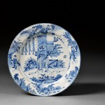 Dutch Delft Blue and White Charger, (Lot 760, Estimate $700-$900)