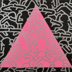Keith Haring (American, 1958-1990) Silence Equals Death, 1989 (Lot 70, Estimate   $7,000-$9,000)
