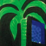 Howard Hodgkin (British, b. 1932) Palm and Window, 1990-1991 (Lot 79, Estimate   $6,000-$8,000)