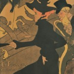 Henri de Toulouse-Lautrec (French, 1864-1901) Divan Japonais, 1892-1893 (Lot   161, Estimate $10,000-$15,000)