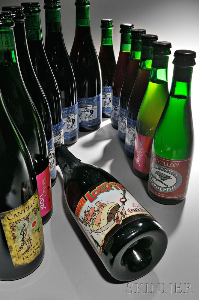 Various Cantillon Lambics (Estimates vary) featuring Loerik (Lot   163, Estimate $2,000-$3,000)