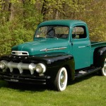 Sold for $12,000. 1952 Ford Pick-up Truck, VIN# 24660