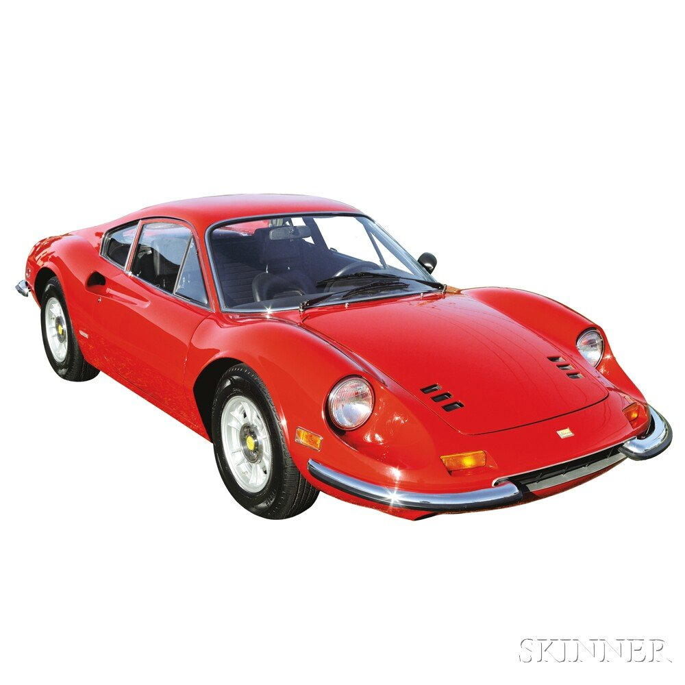 Sold for $216,000. 1972 Ferrari Dino 246 GT, VIN# 03630