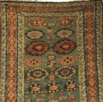 Soumak Long Rug, Northeast Caucasus, mid 19th century (Lot 28, Estimate $2,000-$2,500)