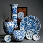 A Large Collection of Blue and White Porcelain, China, 18th and 19th centuries, from The Estate of Peter L. Rosenberg