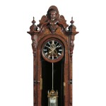 Louis Bernhard Thirty-day Wall Regulator, Bloomsburg (Columbia County),   Pennsylvania, 1875 (Lot 514, Estimate $30,000-$50,000)