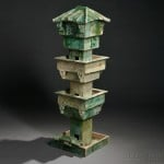 Model of a Watchtower, China, Han dynasty style (Lot 303, Estimate $3,000-$4,000)