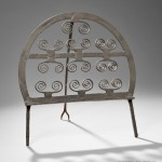 Wrought Iron Broiler (Lot 18, Estimate $1,500 - $2,500)