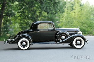 1935 Buick Series 60 Sport Coupe, VIN #2982874 (Lot 300, Estimate $15,000 - $20,000)