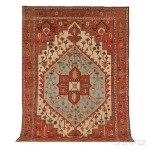 Serapi Carpet, Northwest Persia, late 19th century (Lot 115, Estimate $10,000-$12,000)