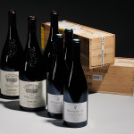 A selection of Southern and Northern Rhone wines (Lots 599, 606, and 612)