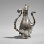 Gorham Sterling Silver Larchmont Yacht Club Trophy Coffeepot, Providence, Rhode Island, 1888 (Estimate $800-$1,200)