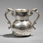 Black, Starr & Frost Sterling Silver New York Yacht Club Trophy, New York, c, 1896 (Estimate $600-$800)