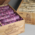 Chateau Latour 1982 (Estimate $15,000-$22,000) and Chateau Lafite Rothschild 1982 (Estimate $24,000-$32,500), 12 bottles each in original wooden cases