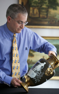 Stuart Slavid, Vice President and Director of European Furniture & Decorative Arts, Fine Silver and Fine Ceramics