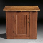 Shaker Cherry Work Counter, early 19th century (Lot 611, Estimate $4,000-$6,000)