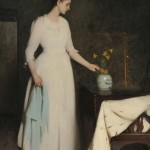 Frank Weston Benson (American, 1862-1951) Figure in White (Lot 495, Estimate $350,000-$550,000)