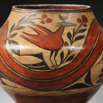 Zia Polychrome Pottery Jar, c. early 20th century (Lot 180, Estimate $600-$800)