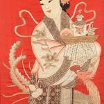 Silk Embroidery of Xi Wangmu, China (Lot 294, Estimate $200-$400)