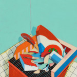 Frederick Lynch (American, b. 1935)  Tablepiece (Inspected) (Lot 1190, Estimate $800-$1,200)