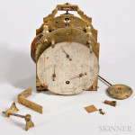 James Condliff Field Regulator Movement and Dial, Liverpool, c. 1820 (Lot 1028, Estimate $500-$700)