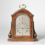 Thwaites Mahogany Table Clock, No. 3005, Clerkenwell, London, c. 1805 (Lot 116, Estimate $6,000-$8,000)
