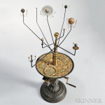 Ernst Schotte & Co. Orrery, Germany, c. 1870 (Lot 226, Estimate $15,000-$25,000)