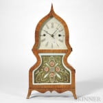 Forestville Mfg. Company Rosewood Veneered Acorn Clock, Bristol, Connecticut, c. 1850 (Lot 44, Estimate $8,000-$12,000)