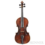 Modern French Violin, Paul Kaul, Costabelle Hyeres, 1921 (Lot 13, Estimate $6,000-$8,000)
