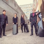 The Vasari String Quartet is a vibrant, young, Boston-based ensemble comprised of undergraduate students at the New England Conservatory of Music. Hailing from Washington DC, Chicago, Sydney, and Shanghai, these four musicians share a vision that chamber music embodies both intellectual and emotional vitality. (left to right Brian Hong, Jing Peng, Harriet Langley, Alexander Hersh)